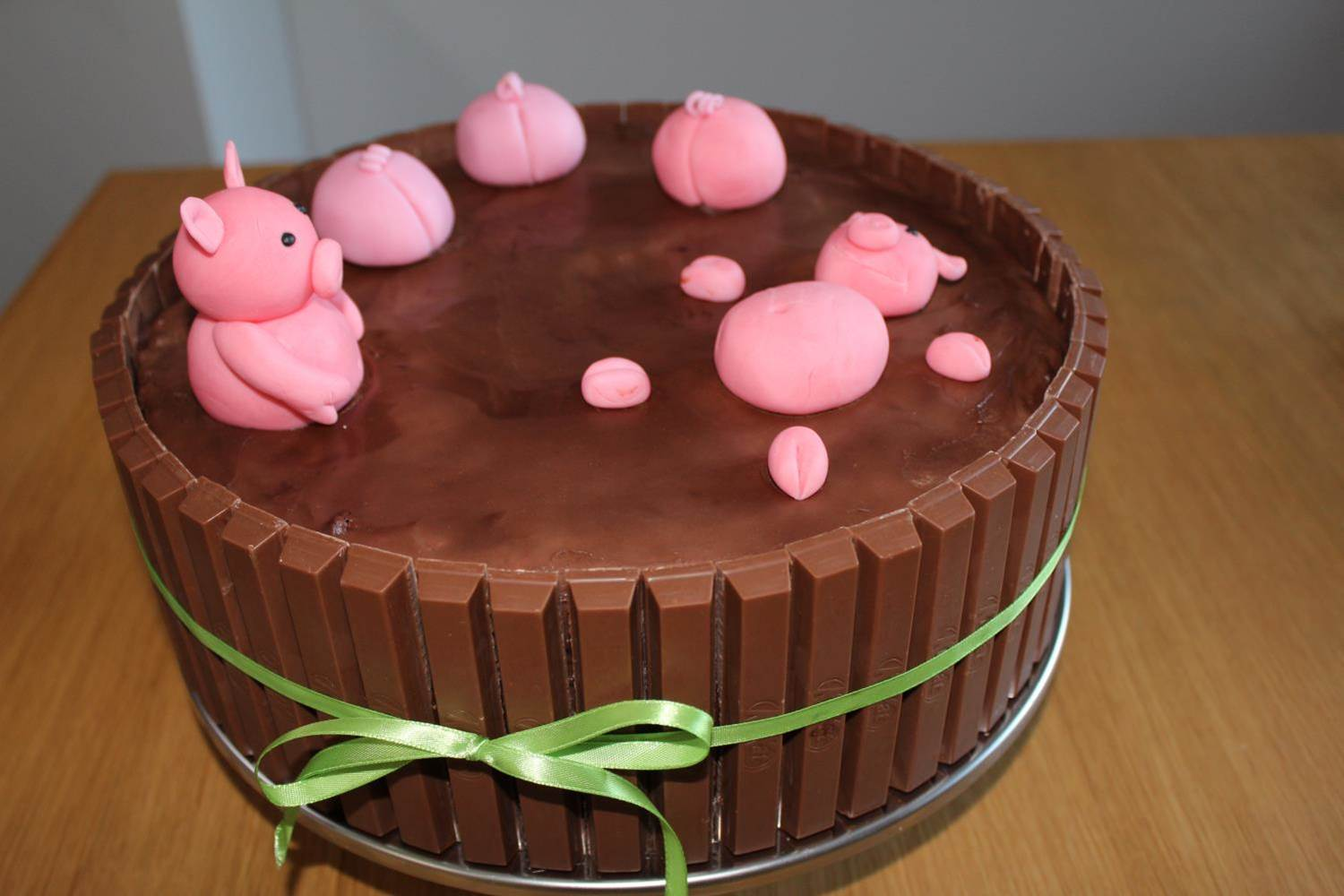 Pig In The Mud Cake Grise I Muddertønden Kage