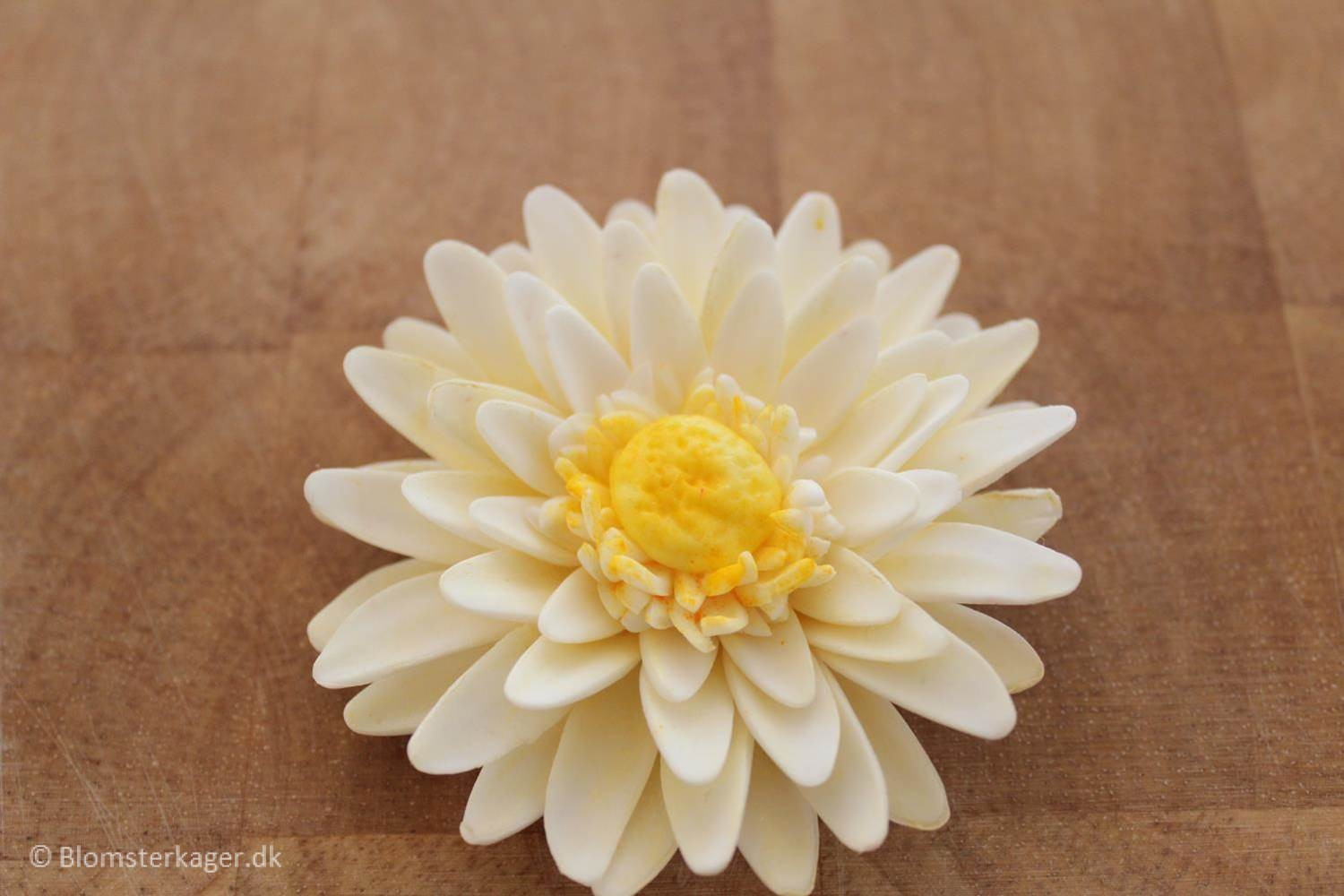 How to make a gerbera daisy from fondant or gum paste ger30 izmirmasajfo