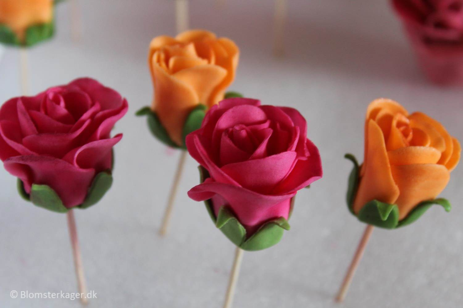 How To Make A Rose Calyx From Fondant Or Gum Paste Karen
