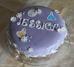Prinsessekage til børnefødseldag