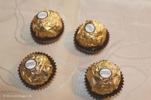 Opskrift på Ferrero Rocher ganache