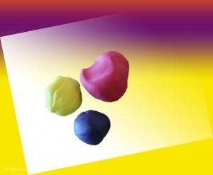 Sådan farver du fondant / gum paste