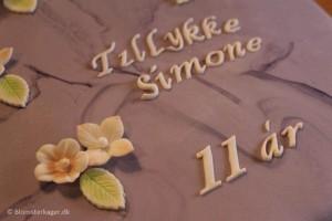 3 idéer til bogstaver på din kage