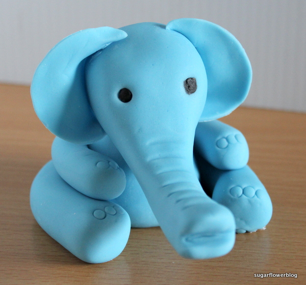 Fondant elefant