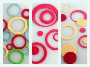 Sådan dekorerer du din kage med cirkler