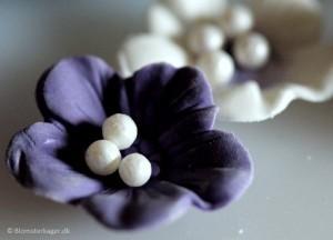 5 idéer til små nemme blomster på din kage