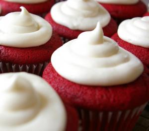 Opskrift på Red Velvet cupcakes