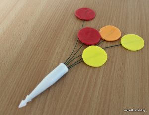 Sådan laver du balloner i fondant eller gum paste
