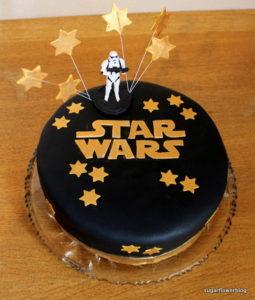 Star Wars kage til fødselsdag