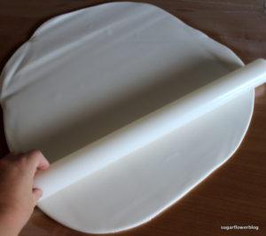 Sådan overtrækker du en firkantet kage med fondant